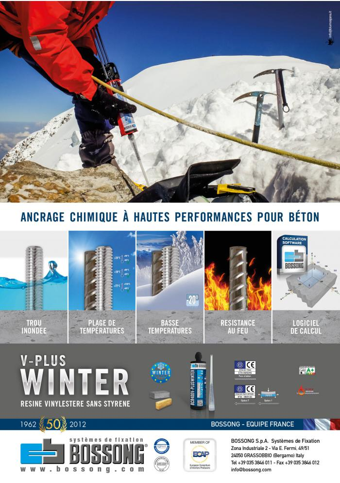 resine Bossong pour l'hiver