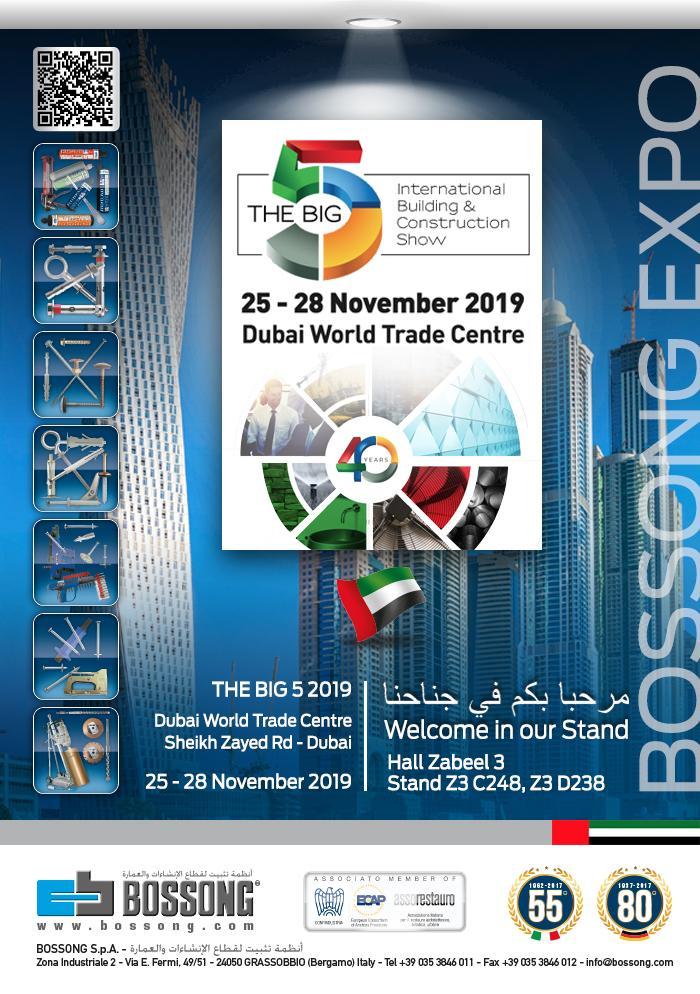 VISITEZ NOUS @ THE BIG 5 DUBAI 25-28 NOVEMBRE 2019