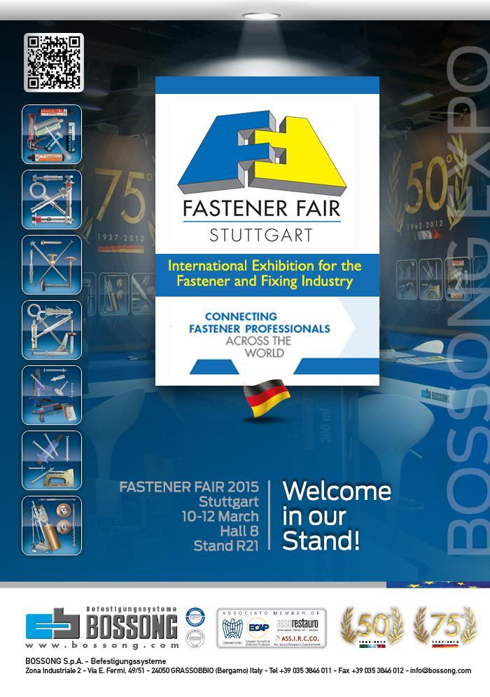 FASTENER-FAIR 2015 Stuttgart