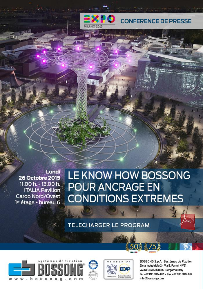 Le know how Bossong pour l'ancrage en conditions extremes